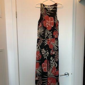 Dynamite Flowy Romper/Dress Hawaiian pattern